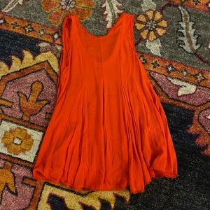 Urban Outfitters red mini dress